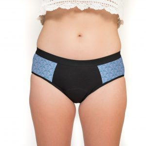 Culotte menstruelle Wen Up Charlotta - bleu lavande